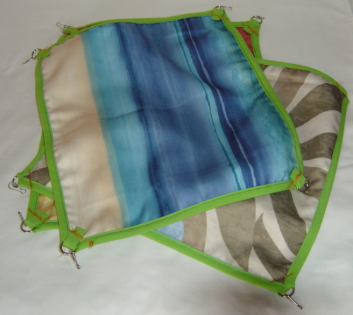 pk of 4 rectangle hammocks 13x11